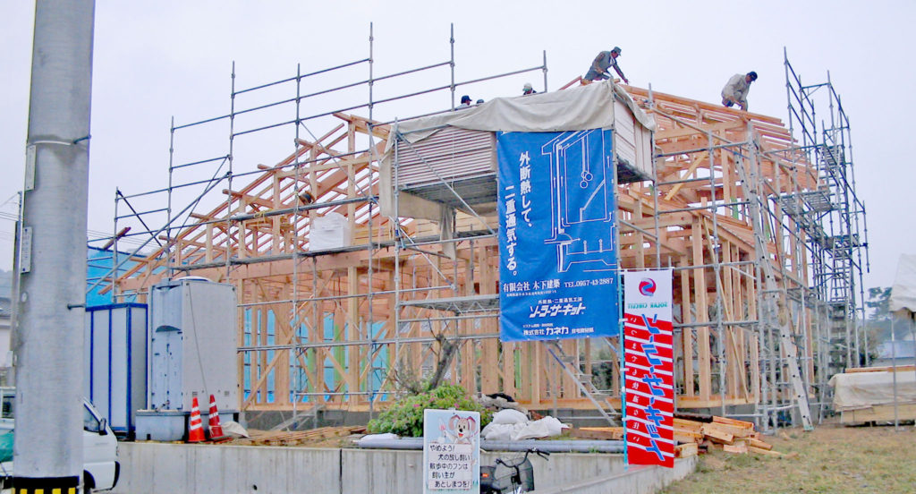 木下建築   長崎 諫早のソーラーサーキットの家